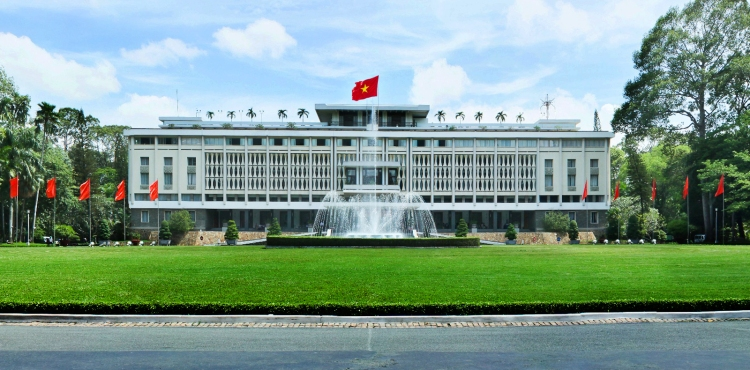 Visiting-Independence-Palace-or-also-known-as-The-Reunification-Palace-the-tourist-learned-about-the-fall-of-the-Saigon-regime-on-April-30-1975.
